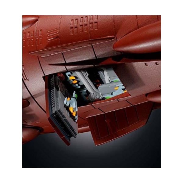 超合金魂 GX-86 宇宙戦艦ヤマト2202 全長約425mm ABS&ダイキャスト製 塗装済み可動フィギュア|shimoyana|04