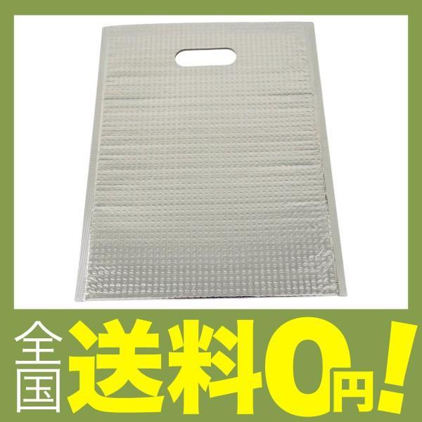 酒井化学工業 アルミ保冷バッグ ミナクールパック C-4 平袋(持ち手穴付) LL 365×475mm 50枚 shimoyana