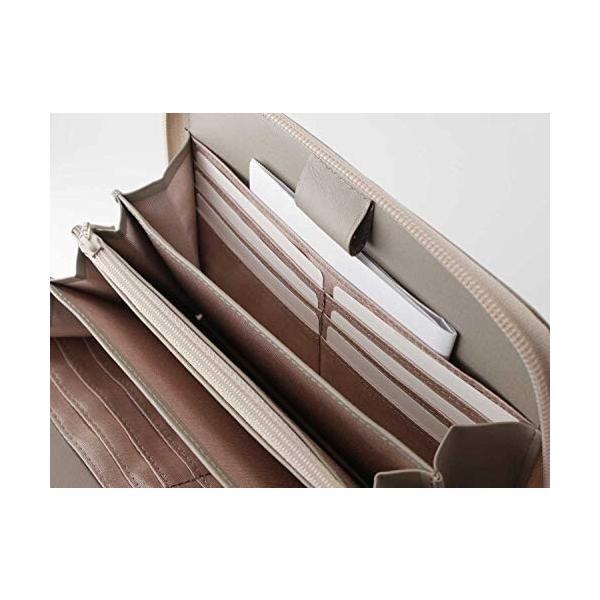 母子手帳ケース マルチケース お薬手帳 二人分 大容量 ノワール カラフル 本革 グレイッシュブルー NSL-7802 ス|shimoyana|04