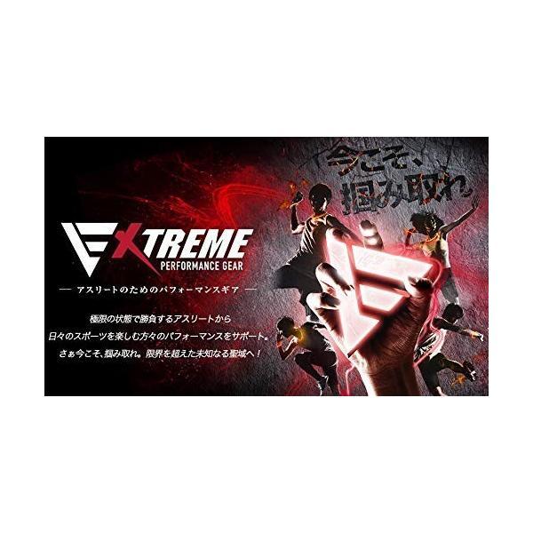 ファイテン(phiten) ブレスレット RAKUWAブレス EXTREME ボーダー ブラック/レッド 18cm|shimoyana|02