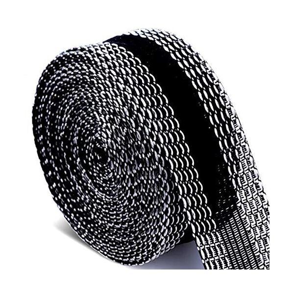 裾上げテープ 強力すそ上げテープ 超ロングタイプ アイロン接着テープ 11m巻 23mm幅 黒 裾直しテープ すそ上げ