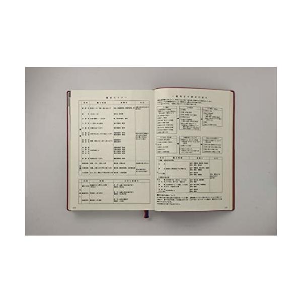 石原出版社 日記 2019年 石原10年日記 B5 こげ茶 N101901|shimoyana|09