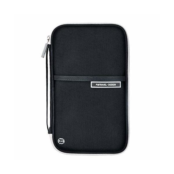 パスポートケース Evershop パスポートバッグ カードケース 通帳ケース 海外旅行グッズ 航空券対応 軽量 防水