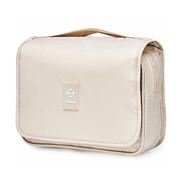 吊り下げ化粧ポーチ トイレタリーバッグ トラベルポーチ 洗面用具入れ 小物 収納防水バッグインバッグ 出張
