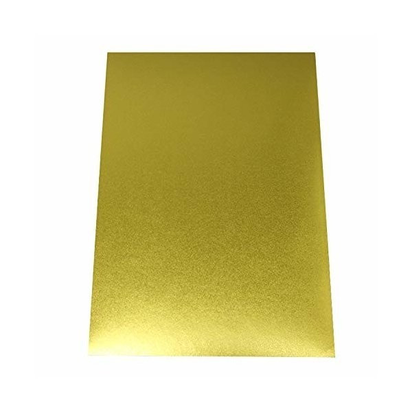 国産】 フリーカット A4サイズ 和風のゴールド金色シール ステッカー、オリジナルシールの制作に 【5枚入