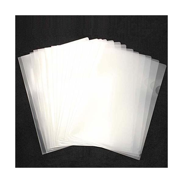 クリアホルダー A4 30枚 クリアファイル ファイル ケース 高透明カラー 薄型 書類 資料 収納 バッグ カバン (透