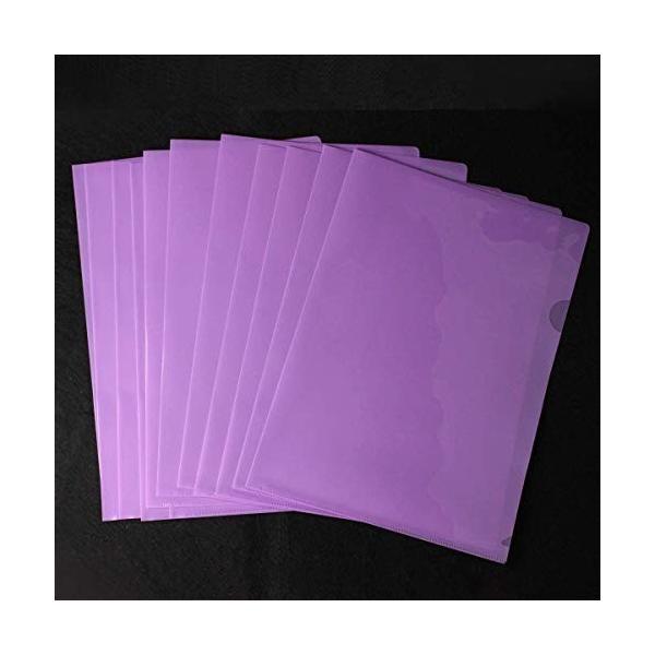 クリアホルダー A4 30枚 クリアファイル ファイル ケース 高透明カラー 薄型 書類 資料 収納 バッグ カバン (パ