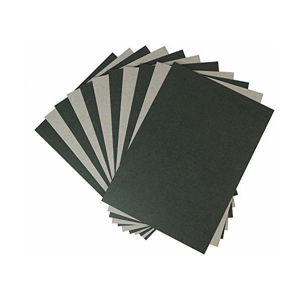黒ボール紙 12号(厚み 約0.78mm) A4サイズ用 台紙・厚紙・表紙・ボール紙用 215x302mm