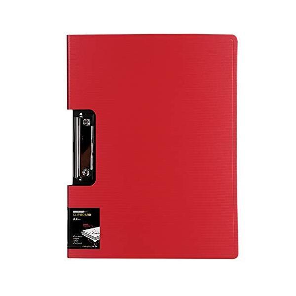 クリップボード a4 バインダー クリップファイル 二つ折り ファイルケース おしゃれ ストライプ柄 書類入れ