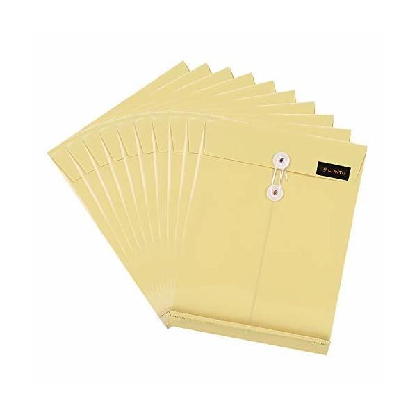 キュメントファイルケース a4 封筒型 書類ケース マチ付き 縦型 防水 プラスチック 保存袋 資料 収納バッグ フ