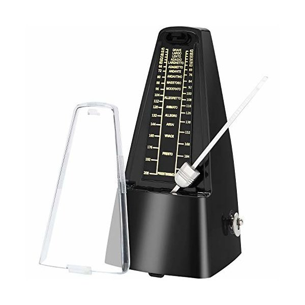 Avenda 機械式メトロノーム、高精度、大音量、バッテリー不要、ピアノ練習 楽器演奏用 音楽 初心者 ベテラン