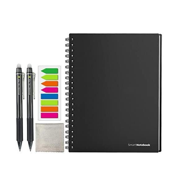 HOMESTEC スマートノート A4サイズ 無限ノート 消せる手帳 デジタル メモ ルーズリーフ おもしろ 文房具 無限に