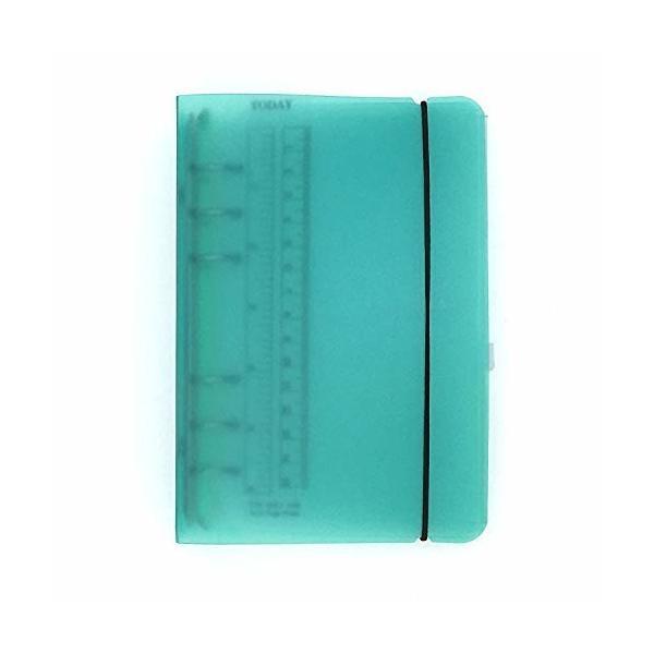 A5 A6 6穴 透明PPなシステム手帳 バインダー システム手帳 プランナー ルーズリーフ ファイロファックスノート