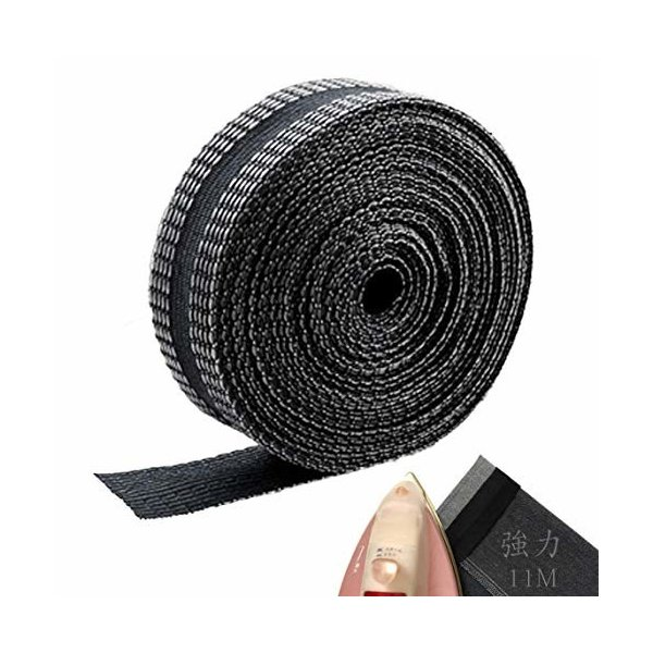 Odowalker 裾上げテープ 強力 超ロングタイプ アイロンテープ 裾直しテープ 11m巻 25mm幅 裾上げテープ アイロン