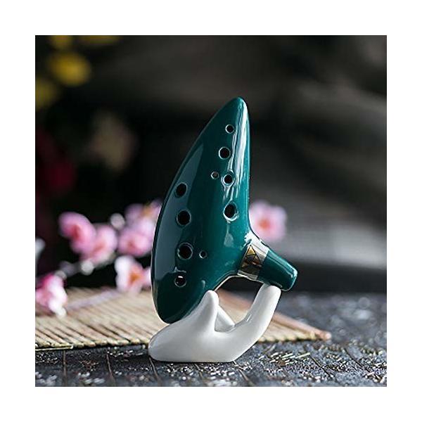 Jinchuan オカリナ 12穴 陶器製管 ゼルダの伝説 吹奏楽器 ハイクオリティー アルトC 楽譜付き 初心者/音楽愛好家