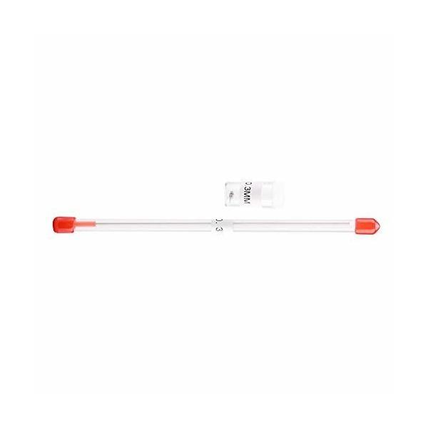 エアブラシノズル ニードル針 0.2mm/0.3mm/0.5mm 交換用 取り替え エアブラシツール アクセサリ 収納容器付き(0.3mm)