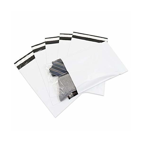 ワークアップ臭くない宅配ビニール袋 ネコポス用 宅配袋 220x310+50mm 60ミクロン 白 静電気防止テープ