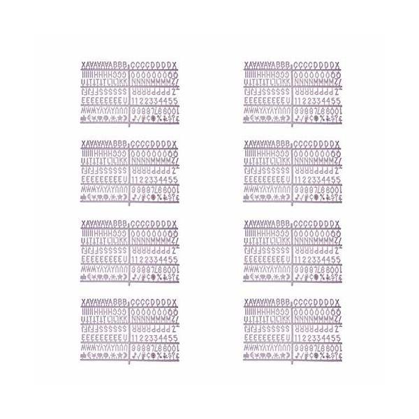 WANDIC ボードレター, 1360文字, 数字, キャラクター と 絵文字, 1個 糸袋 交換式フェルトレターボード用 掲示板,