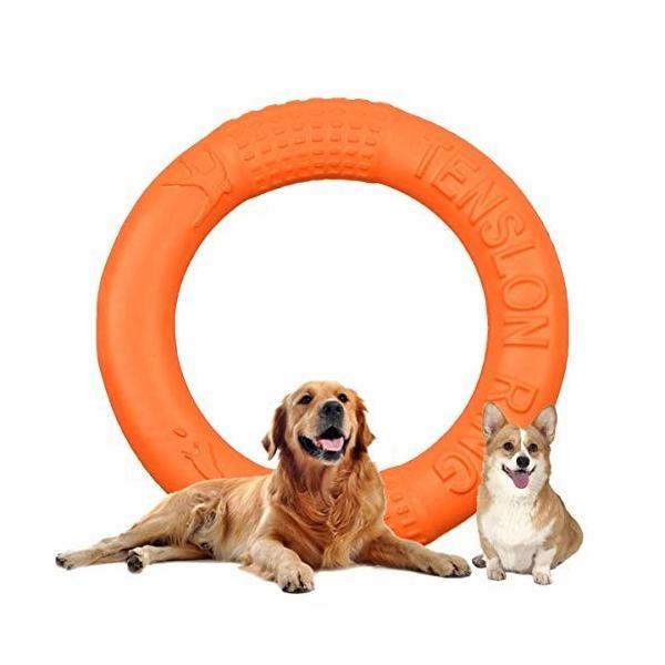 犬用噛おもちゃ 投げるおもちゃ 犬用おもちゃ 耐久性犬用おもちゃ 浮く 犬用投げる 噛むおもちゃ フィットネ
