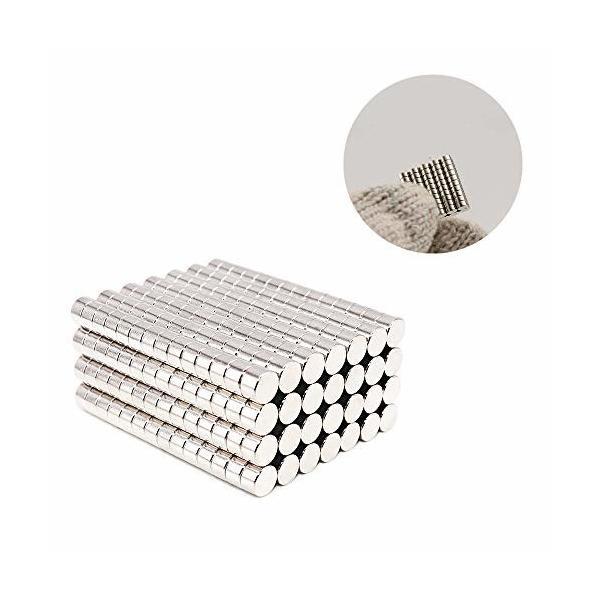(Yoksun) 磁石 マグネットセット N52 耐熱220度 丸型 小型 ネオジウム磁石 強力マグネット 資料 固定 付箋紙固定