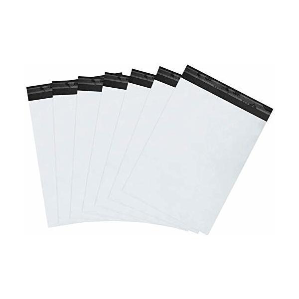 宅配ビニール袋 100枚 15.3 x23cm 防水 60マイクロメートル宅配ポリ袋 梱包 強力テープ付き メルカリ ヤフオク ゆ