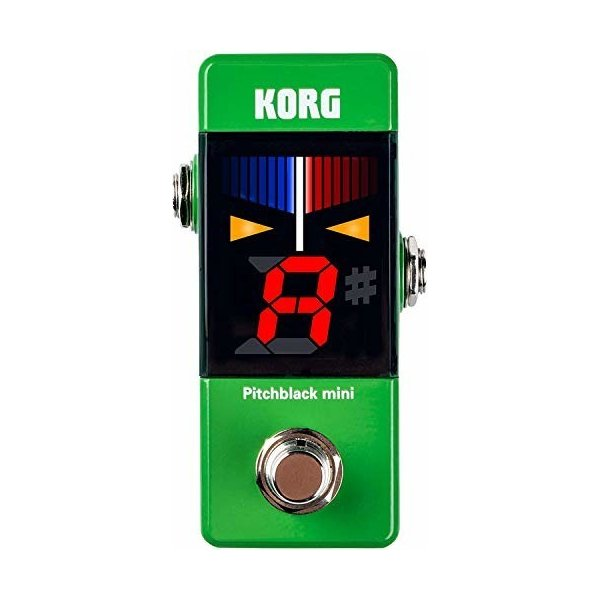 KORG ギター/ベース用 ペダルチューナー Pitchblack mini GR グリーン PB-MINI GR