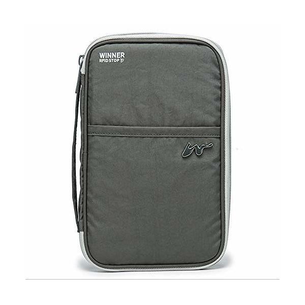 旅行パスポートバッグ盗難防止パスポートカバーシンプルファッションIDバッグマルチカードクリップ大容量