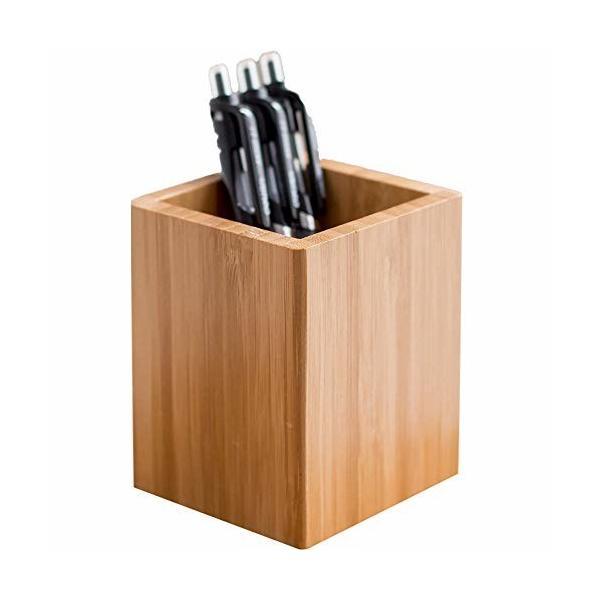 ペン立て 木製 ぺんたて シンプル ペンスタンド 天然木 木目 おしゃれ デザイン オフィス収納 卓上収納 小物
