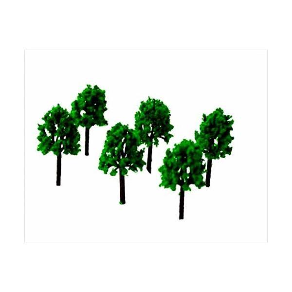 ジオラマ森林樹木100本Nゲージ材料鉄道建築模型用樹木風景緑100本4.5cmミニチュア木