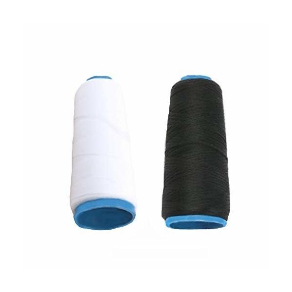 魔法の糸 白黒2色セット 50g×2 / ウーリー糸