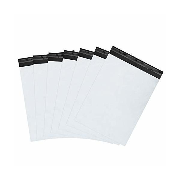 宅配ビニール袋 100枚 25.5 x33cm 防水 60マイクロメートル宅配ポリ袋 梱包 強力テープ付き メルカリ ヤフオク ゆ