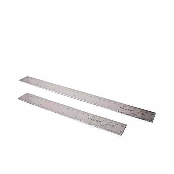 Utoolmart ルーラー プラスチック定規 直定規 直線定規 直ルーラー メジャー定規 測定ツール 測定定規ツール 測