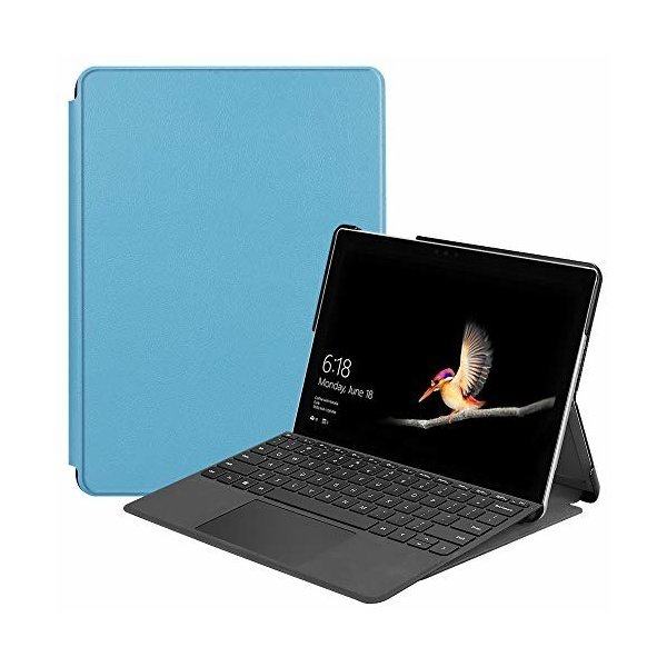 SurfaceGo2/SurfaceGoケースタブレット専用新型高級PUレザーケースSurfaceGo2カバースタンド機能付き保