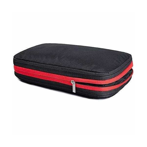 Chaslean 圧縮バッグ 便利旅行圧縮バッグ 衣類圧縮バッグ 圧縮で衣類スペース50%節約便利旅行圧縮バッグ ファ