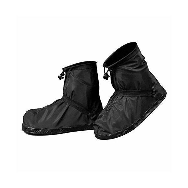 (LULUFUN)シューズカバー防水靴カバー梅雨対策レインカバーアウトドア靴カバーお手入れ簡単靴レインカ
