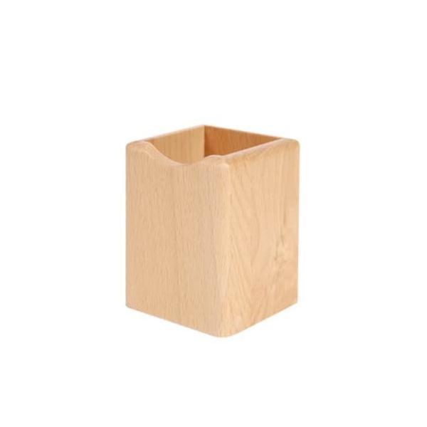 ペン立て 木製 四角 多機能 ペンスタンド おしゃれ 筆立て 木 高級 ペン ボールペン 鉛筆 はさみ 万年筆 収納