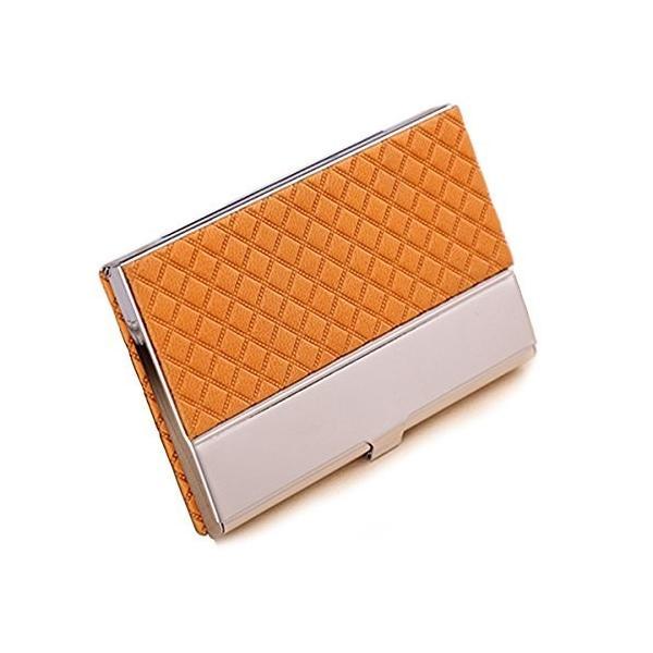 ポケット名刺ケース名刺入れ カードケース ビジネス男女兼用6色角が折れない