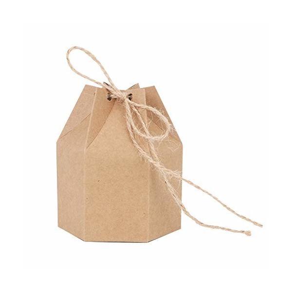 ギフトボックス 50個 箱 ラッピングボックス 無地 シンプル 汎用 エコ 綺麗 ケース パッケージ アクセサリー