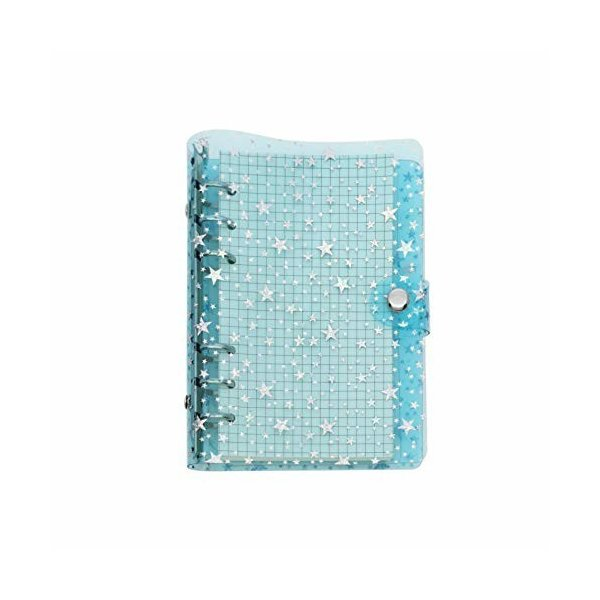 A5 A6 6穴 透明PVCなシステム手帳 バインダー システム手帳 プランナー ルーズリーフ ファイロファックスノート