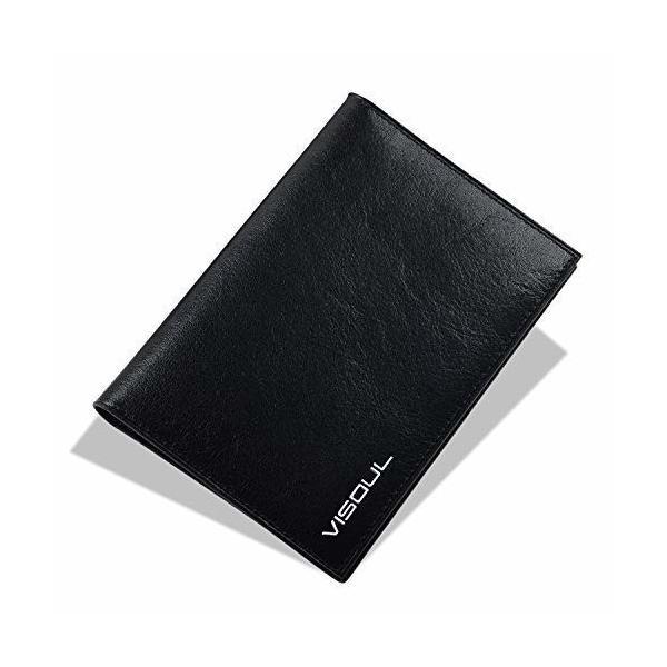 パスポートケース VISOUL クレジットカード 航空券 エアチケット 本革 カードケース ビジネス 海外旅行定期入