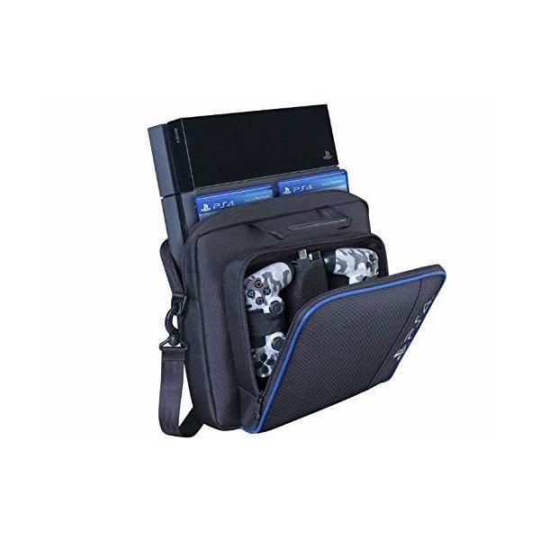 PS4 収納ケース 肩掛け 軽量 収納バッグ Playstation 4 大容量 防水 PS4 キャリーケース 防塵 キャリーバッグ 耐衝撃