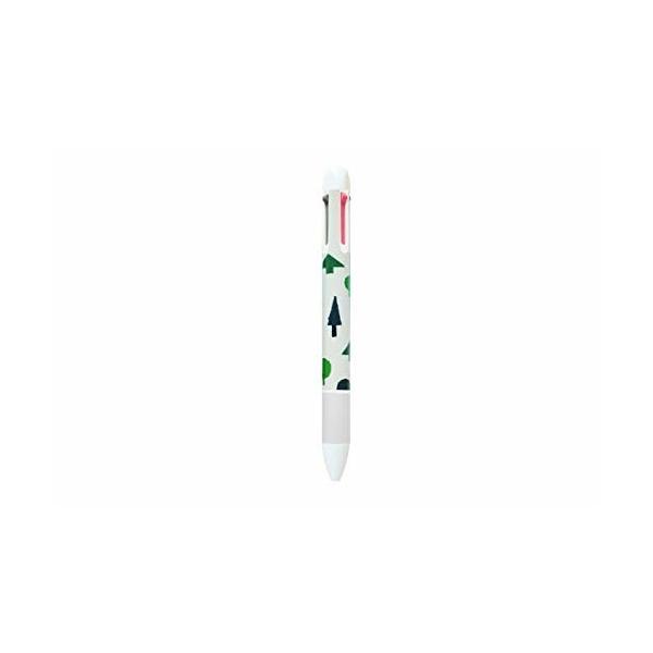 (LIVEWORK) Illust 4color ball-point イラスト4カラーボールペン 4色 ボールペン イラスト かわいい 0.3mm (ボンボヤージ