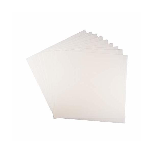 WANDIC ステンシルシート, 20個 空のテンプレートシート あなた自身のステンシルを作る 招待状の種類 DIYカード