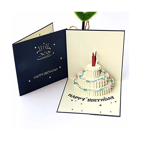 面白い誕生日カード 仕掛け 立体 バースデーカード 男の子 出産祝い 男の子 メッセージカード 誕生日 ミニ バ