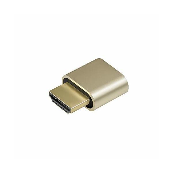 ADWITS 1パック HDMIバーチャル・ディスプレイ HDMI エミュレータ HDMIダミープラグ DDC EDIDエミュレーター 高解像度
