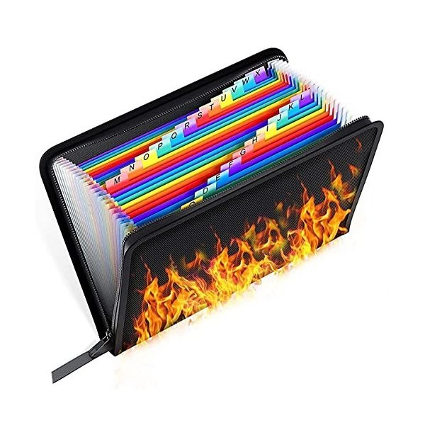 SOTOHE ドキュメントファイル 耐火温度1200[度] A4サイズ収納可 耐火ファイルバッグ 防水・防湿ケース 家庭用・業