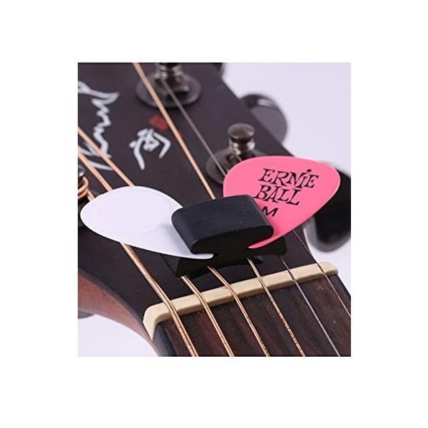 (スロウライド) ギター ピック ホルダー クリップ ケース 置き 収納 まとめ スタンド アコギ エレキ ベース ウ