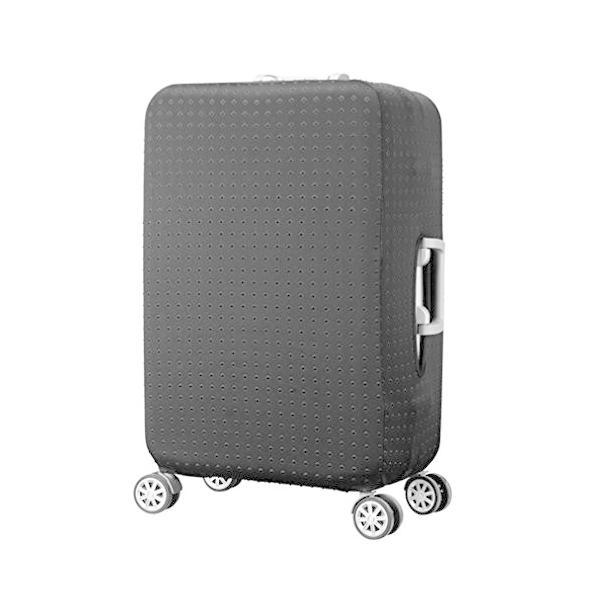 HiMiスーツケースカバー防水,伸縮素材 スーツケースカバーキャリーバッグ お荷物カ M:23-25