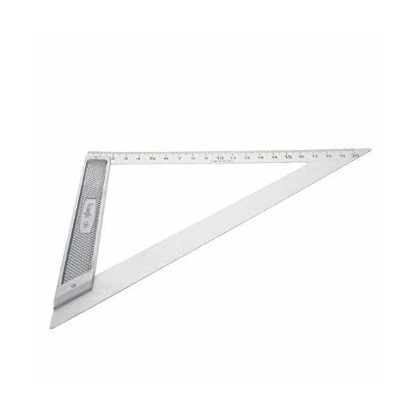 Utoolmart 三角形ルーラー 製図ルーラー 90度 木工三角定規 ケガキゲージ スライディングスコヤ 直角定規 大工の