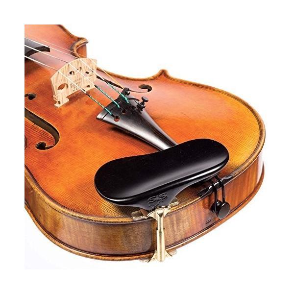 SAS バイオリン・ビオラ用 あご当て 黒檀